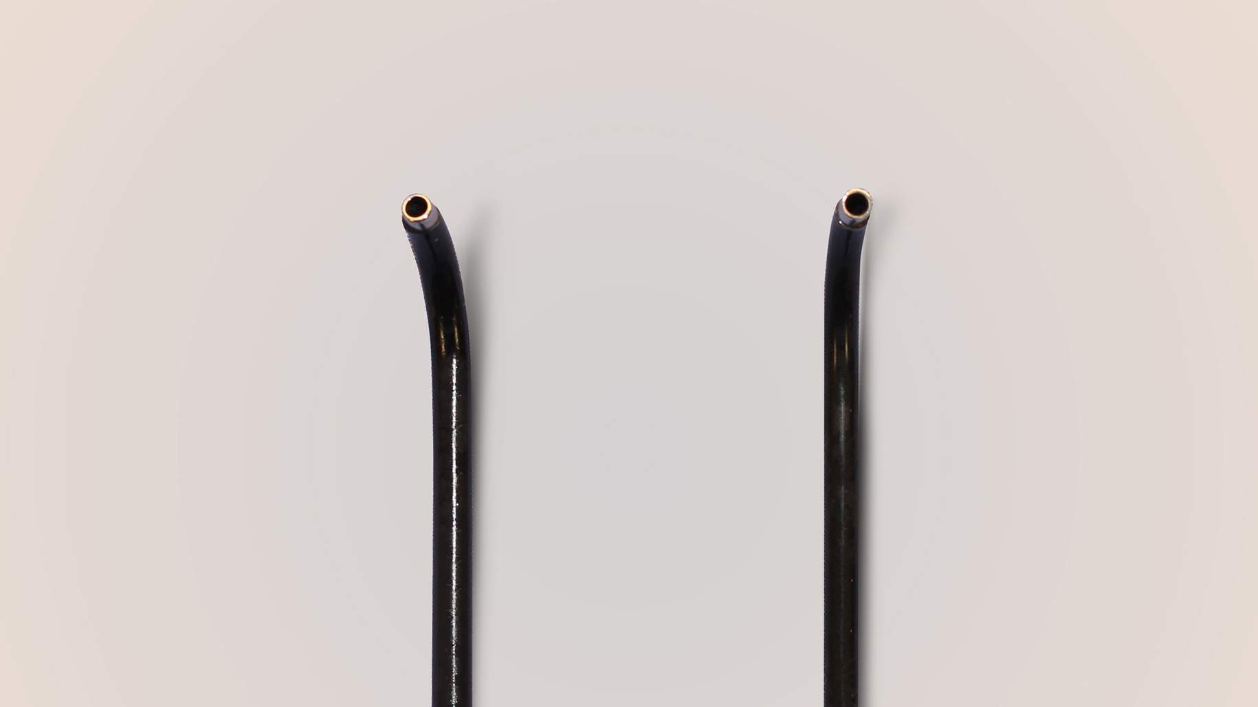 Figure 5: Angled suction devices are also especially effective for removal of tumors that are exposed via angled endoscopes.